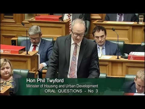 Question 3 - Hon Judith Collins to the Minister of Housing and Urban Development