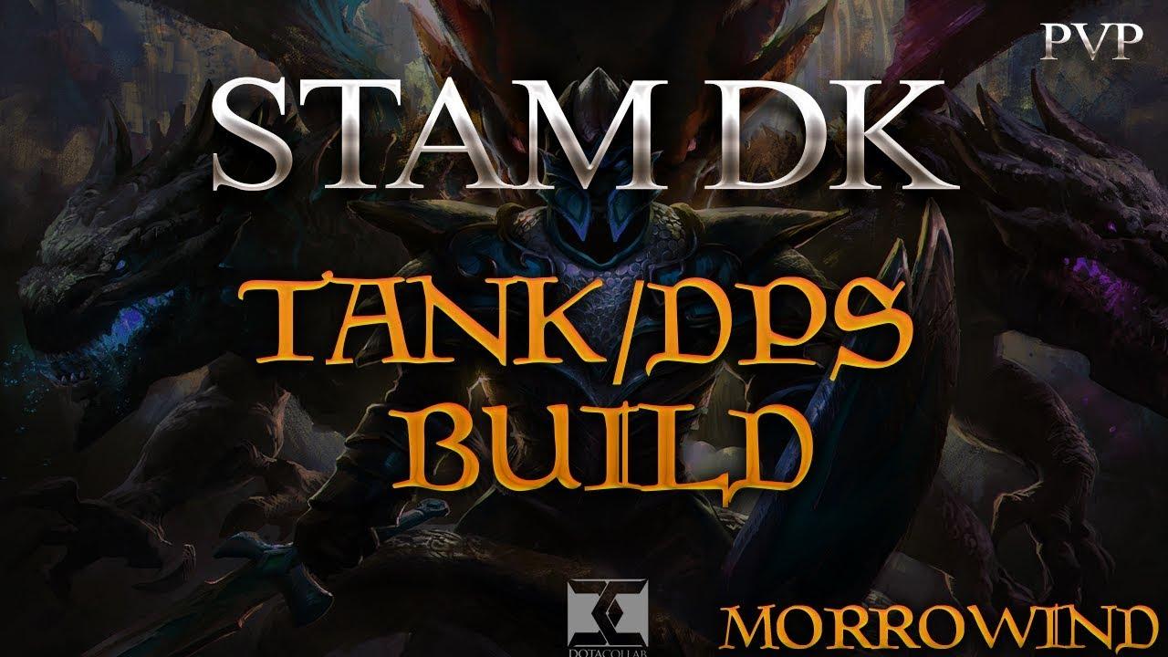 *UNKILLABLE* STAM DK BUILD TANK/DPS !!! | ESO | Morrowind || DragooX