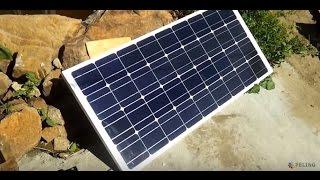 тест бюджетных контроллеров заряда для солнечных батарей