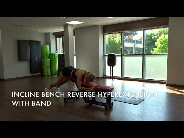 Incline Bench Reverse Hyperextension With Band