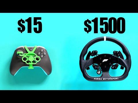 $15 Vs $1500 Xbox One Controller Wheel For Forza Horizon 4