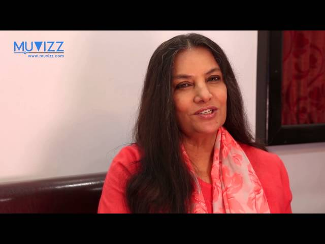 Shabana Azmi on acessability of films - YouTube