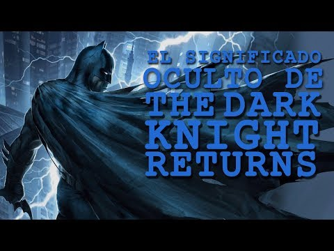 El Significado Oculto De The Dark Knight Returns |  BATMAN Y La Filosofia De Friedrich Nietzsche