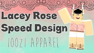 Lacey Rose Outfit Speed Design || ROBLOX