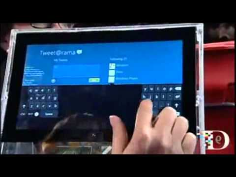 Windows 8 Demo (All Things Digital, D9)