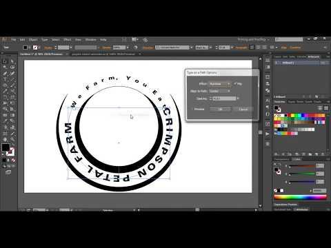 Logo design tutorial || How to design a simple Logo || Illustrator basic