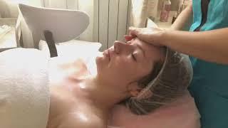 Испанский лимфодренажный массаж лица