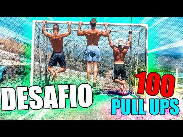 DESAFIO DAS 100 PULL UPS !! QUEM GANHA ?