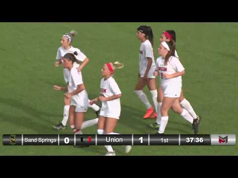 REPLAY Girls soccer vs. Sand Springs