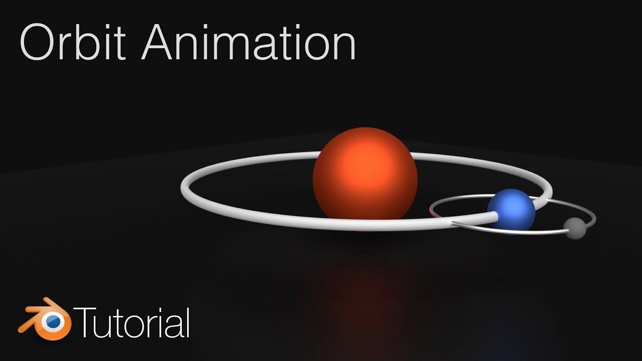 9611e493a65 Orbit Animation in Blender