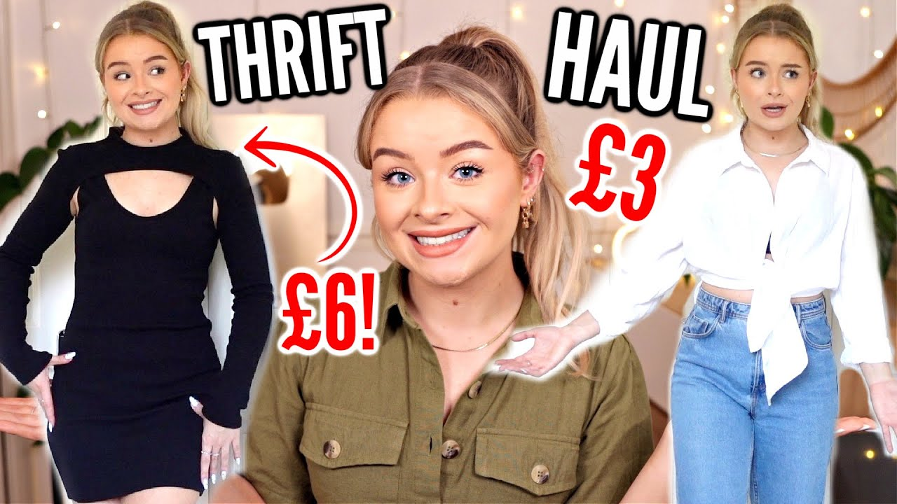 Download TRY ON CHARITY SHOP/THRIFT HAUL SEPTEMBER 2021