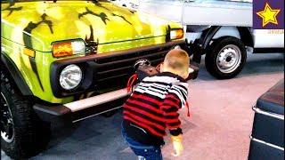 Настоящие машины для детей Все серии подряд Cars for kids