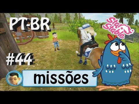 MISSÕES #44 SSO PT-BR construindo um galinheiro em firgrove com Andy(star stable online)
