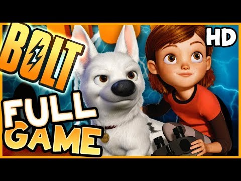 Disney Bolt FULL GAME Longplay (PS3, X360, Wii, PS2, PC)