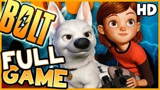 Disney Bolt FULL GAME Movie Longplay (PS3, X360, Wii, PS2, PC)