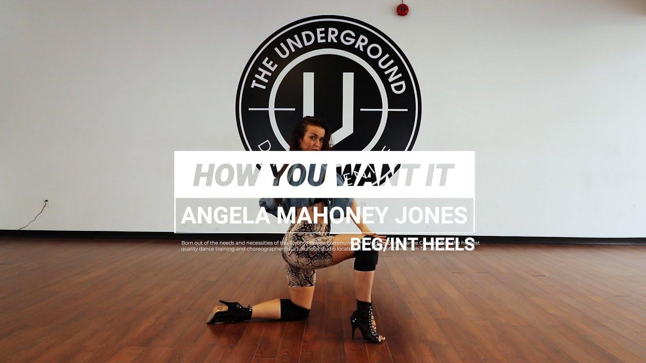 Teyana Taylor  |  How You Want It  |   Choreography by Angela Mahoney Jones
