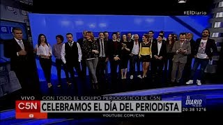 C5N - El Diario: Celebramos el Día del Periodista en C5N