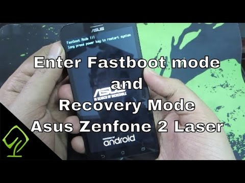 How to enter Fastboot mode and Recovery Mode in Asus Zenfone