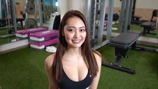 【美女の2分間チャレンジ】たったの2分で痩せます!!!![特別付録]どっちのうみが好き?www thumbnail