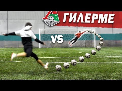 Shooting freekicks vs PRO KEEPER (fc Lokomotiv)