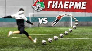 Shooting freekicks vs. PRO KEEPER