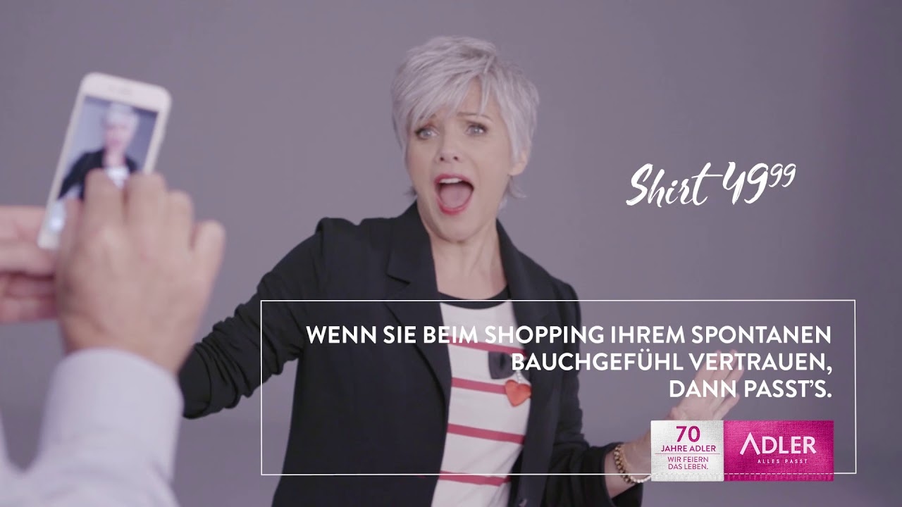 Adler Birgit Schrowange Herbstwinter 2018 Youtube