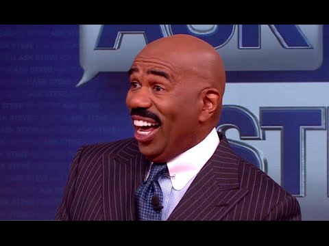 Ask Steve: And out comes the pastor's wife!    STEVE HARVEY