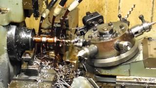 Fred's Hardinge automatic lathe making new MB part