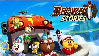 LINE BROWN STORIES Gameplay | Android 1080 HD