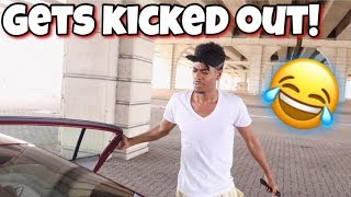 ARGUMENT PRANK ON UBER DRIVER!!! (KICKED OUT)