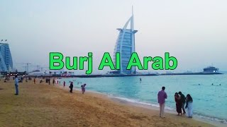 Burj Al Arab - View from the Public Beach