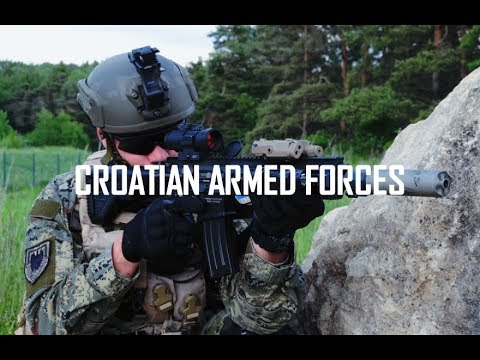 Croatian Armed Forces 2018