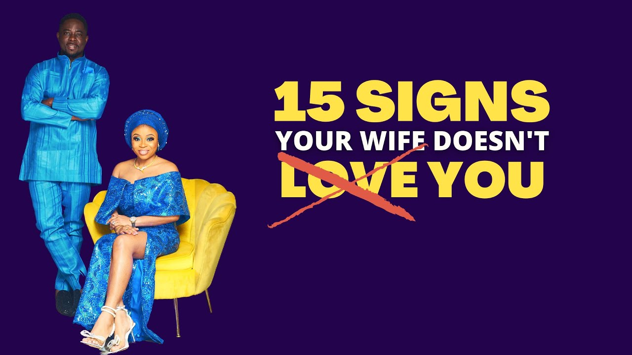 That loves signs your you wife 10 signs