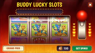 Buddy Lucky Slots Grand Prix on Android | 136 Spins | Kick The Buddy screenshot 5