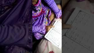Cucunda Andira Putri Nabila Alam belajar iqro