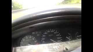 Acceleration Civic EH3 (EG) B16A1. Gearbox S80 from ITR