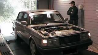 Effektmätning Volvo 240 Turbo Maxxtuning AB