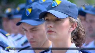 GRANIČNA POLICIJA DOBILA JE DANAS 100 NOVIH POLICAJACA (30 08 2018)