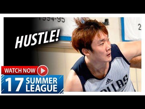 Ding Yanyuhang Full Highlights vs Pistons (2017.07.06) Summer League - 13 Pts, HUSTLE!