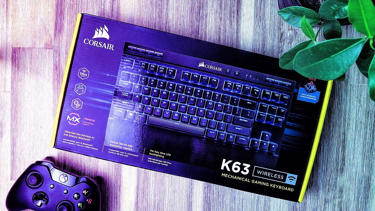 8931e28385c Corsair K63 Wireless Unboxing! - YouTube