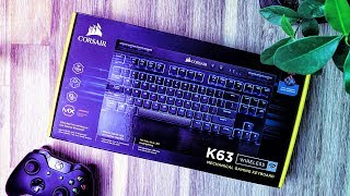 Corsair K63 Wireless Unboxing!