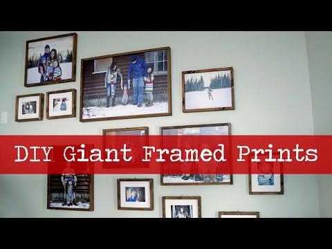 Large Wood Framed Gallery Print