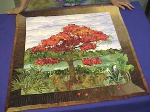 Flamingo Island Designs Landscape Quilts Product Line - YouTube : landscape quilting - Adamdwight.com