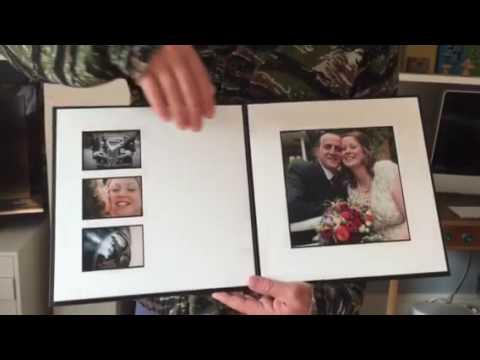 12x12 Wedding Album Youtube