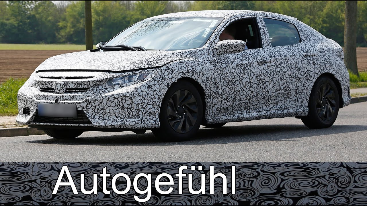 New Honda Civic Hatchback Version Spy Shots Camo Car