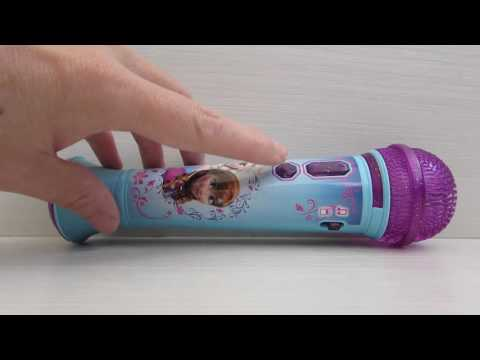 Микрофон KIDdesigns Disney Frozen Magical MP3 Microphone