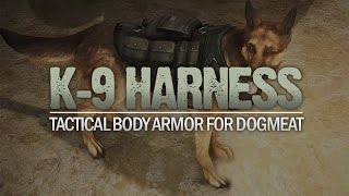 K-9 Harness - Tactical Body Armor for Dogmeat Fallout 4 Mod