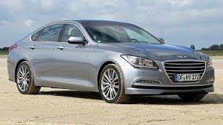 Hyundai Genesis Test Fahrbericht 2014 смотреть