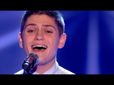 Jake Shakeshaft performs Thinking Out Loud  The Voice UK 2015: Blind Auditions 2  BBC One