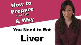 How to prepare organic grassfed beef and chicken liver